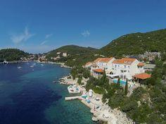 Das Hotel Božica in gesegneter Lage am kristallklaren Mittelmeer auf der Insel Šipan. #adria #mittelmeer #mediterranean #croatia #kroatien #urlaub #sipan #insel #sadurad #hotel #reise #travelwirhkids #familienurlaub #vamosreisen