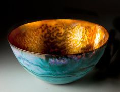 Pat Johnson Enamels | Pat Johnson Enamels: Enamel bowls gallery
