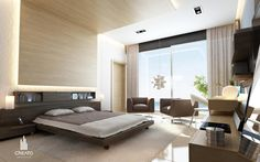 Dark & light colour Veneer in either master or parents room