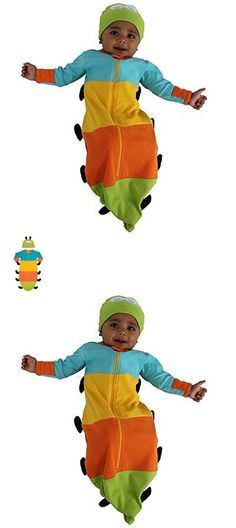Other Baby and Toddler Clothing 1070: Sozo Unisex-Baby Newborn Caterpillar Bunting And Cap Set Blue Yellow Orange G... -> BUY IT NOW ONLY: $38.39 on eBay!