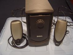 DELL A425 ZYLUK MULTIMEDIA COMPUTER SPEAKER SYSTEM POWERED SUBWOOFER