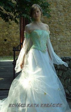 Fairy Princess Corseted Ball or Alternative Wedding by KataKovacs, $1135.00