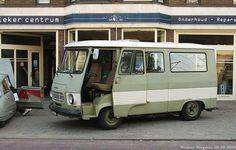 zo'n Peugeot J7 was onze camper tot ca. 1989