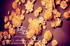 Hand made flower wall reception feature. Photo by Gloss Photography studios. Concept Tailored Engagements.