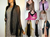 Yours Elegantly CT USA has new arrivals in #evening #shawlsandwraps so shop online now. Note that evening shawls   are preferred in classic colors like a black, silver, ivory white, beige, dark purple, royal blue, burgundy, red, turquoise and grey which are must have evening shawl colors. For spring and summer shawls the light sheer chiffon silk shawls, Pashmina and silk shawls, netted lace & velvet shawls are ideal in style and yarn for the season.