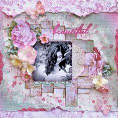 Beautiful Layout - Oh So Lovely Kaisercraft - Kaisercraft - Oh So Lovely Collection