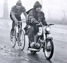 "bikepost: "" (via Cycling Art Blog: Drinking Companion.) """