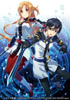 Sword art online: ordinal scale, Asuna and Kirito