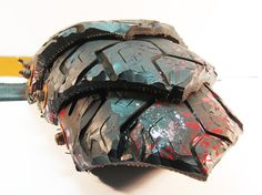 Weathered Tire Armor by Roll4Damage on Etsy