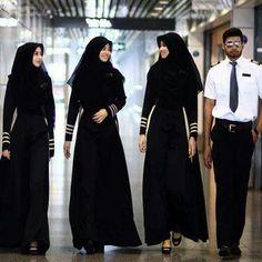 Indonesian flight attendants