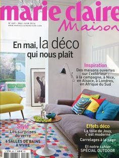 Couv Marie Claire maison mai 2014