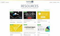 #Programación_y_Diseño #Recopilaciones_y_listas #herramientas Dos sitios recopilatorios de herramientas y recursos para el diseño