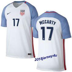 Dax McCarty 17 2016 COPA America Centenario USA Men's Home Soccer Jersey