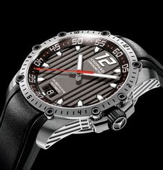 Paying tribute to the automobile world - The Superfast Automatic #watch in stainless steel