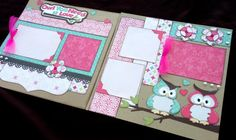 Owl pages Hey, I found this really awesome Etsy listing at https://www.etsy.com/listing/176468315/12x12-scrapbook-page-owl-you-need-is