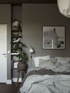 In green... | The best color or a bedroom | Photo: Daniella Witte