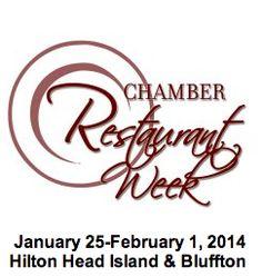 Good Eats! Hilton Head's 6th Annual Chamber Restaurant Week Starts Jan. 25