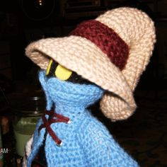 crochet final fantasy   Vivi Ornitier (Final Fantasy IX) (image fat!) - CROCHET