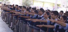 """En relación con la inversión en infraestructura y equipamiento de los centros educativos, se ha alcanzado cifras sin precedente, declaró Javier Duarte al inaugurar el ciclo escolar 2015-2016, en la Escuela Secundaria General No. 5 """"Manuel R. Gutiérrez"""""""