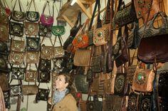 comprar carteras en el zoco de marrakech - Buscar con Google