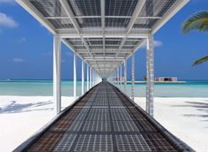 This jaw-dropping luxury resort is 100% solar-powered