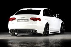 Rieger Audi A4 B8#Rvinyl #Aftermarket #BodyKits change the entire look of your ride. Check out our selection: http://www.rvinyl.com/Body-Kits.html