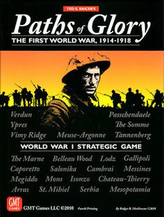 Paths of Glory: A World War I strategic game by GMT Games