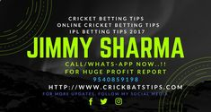 Free Betting Tips - ONLINE CRICKET TIPS | CRICKET BETTING | Free Cricket Tips: Cricket Betting Tips|Online CBTF|Ipl Betting Tips-... - Receive Free Betting Tips from Our Pro Tipsters Join Over 76,000 Punters who Receive Daily Tips and Previews from Professional Tipsters for FREE