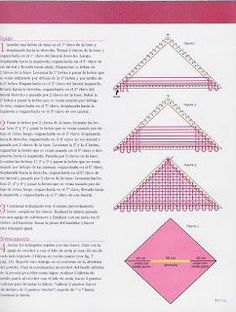 Fabrics and Looms: Triangular loom poncho - Telar Bufanda Loom Weaving, Weaving Techniques, Couture, Woven Fabric, Fiber Art, Needlework, Wool, Tattoos, Crafts