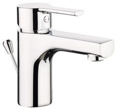 Mitigeur de lavabo SOFT ECO chromé H. 13,8cm - ANDERSEN / Magasin de Bricolage Brico Dépôt de SARTROUVILLE