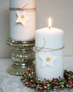 candle wrap, not necessarily the star, but to highlight a color scheme