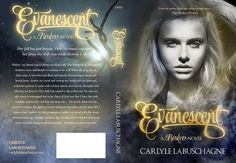Full cover of Evanescent A Broken Novel - Designed by Regina Wamba from Mae I design and photography <3