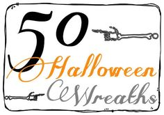 Halloween Crafts: 50 Halloween Wreaths