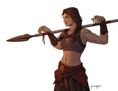 Some personal fanart of Kassandra from Assassin's Creed. Dungeons And Dragons Characters, Dnd Characters, Fantasy Characters, Female Characters, Female Character Design, Character Drawing, Character Design Inspiration, Film Manga, Photographie Indie