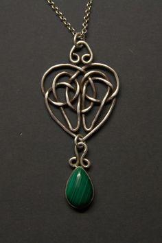 Celtic knot heart pendant on Behance