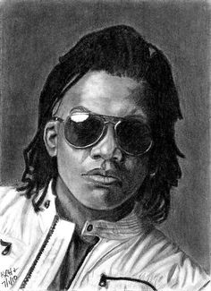 Michael Tait even in a drawing the man looks amazing!!!