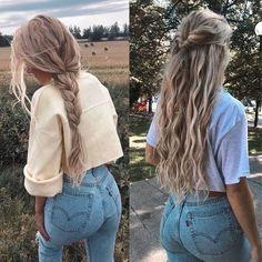 HAAR DES TAGES Einkaufslink in Bio . - - HAAR DES TAGES Einkaufslink in Bio . - - There's no challenge with wholesaling via a spg wild hair movement report. Super Easy Hairstyles, Summer Hairstyles, Messy Hairstyles, Heatless Hairstyles, Easy Hairstyles For Long Hair, Hairstyles Tumblr, Long Blonde Hairstyles, Casual Hairstyles For Long Hair, Hairstyles For Medium Length Hair Easy