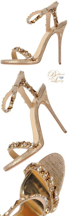 Brilliant Luxury ♦ Ermanno Scervino sandal