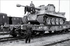Ready Tiger on Railway to the front