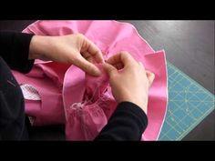 Brunette - Etape 6 : La ceinture et la jupe A (ou C) - YouTube