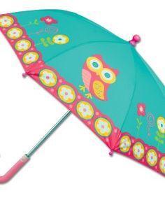 Stephen Joseph Kid's Umbrella- Tea Owl