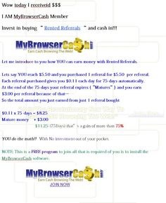 I just wanted to share my succes with everyone who will see this.    A while a go I started looking for a way to make some extra cash and I found this site named MyBrowserCash.    http://www.mybrowsercash.com/index.php?refid=31185=pinterest