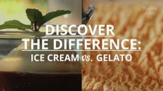 Not all frozen desserts are created equal. Learn the difference between these two favorites—as well as other common ingredients—once and for all. Food Tips, Food Hacks, Real Food Recipes, Cooking Tips, Healthy Recipes, Frozen Desserts, Frozen Treats, Just Desserts, Non Alcoholic Drinks