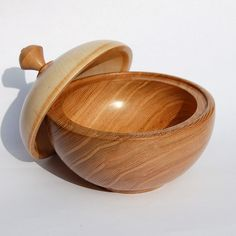 Elm and Lime Wooden Jewellery Box