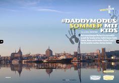 Neuer Dadymodus-Blog: Summer in the City. Was wir in der besten Zeit des Jahres mit den Kids in Rostock unternehmen.