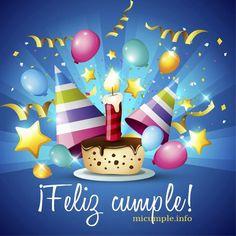 ideas for birthday imagenes prima Happy Birthday Celebration, Happy Birthday Messages, Happy Birthday Images, Birthday Pictures, Birthday Greetings, Cool Birthday Cakes, Birthday Crafts, Birthday Decorations, Romantic Birthday