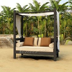 Forever Patio Hampton Daybed with Cushions