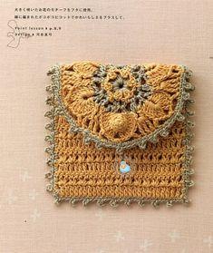 crochet bags, coins, pattern, color combos, clutch purse, coin purses, accessories, crochet purses, crocheted purses