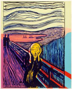 Andy Warhol, 'The Scream (After Munch),' 1984, Mary Ryan Gallery, Inc