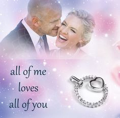 all of me loves all of you   Show it  » bit.ly/1KzcokR  #Silberanhänger #Herz #Valentinstagsgeschenk Love You All, Passion, Movie Posters, Jewelry, Silver Pendants, Valentine Gift For Him, Great Gifts, Schmuck, Jewlery